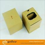 watch box with kraft paper
