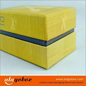 boxes with lid and side wall for power bank