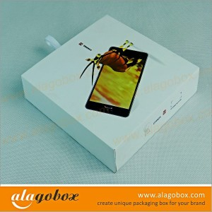 slide open boxes for cell phone
