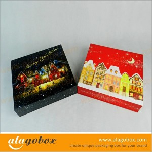 Chistmas packaging chocolate