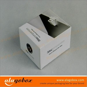 USB port top and bottom cover box