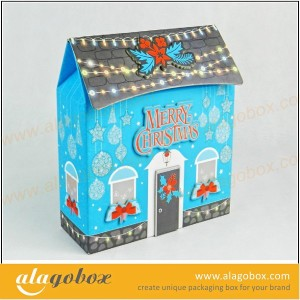 house shape Paper candy package