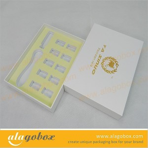 cosmetic packaging with EVA inner tray