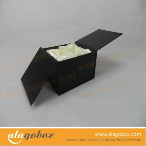 satin lined black gift boxes