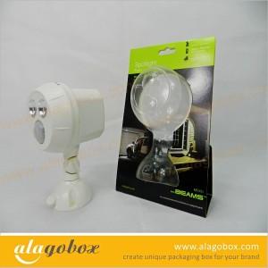 led bulb packaging design