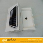 white consumer electronics packaging for phone