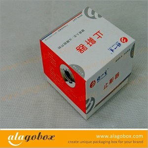 box with lid for snoring treatment