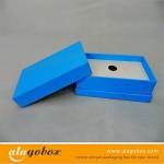 blue consumer electronics packaging