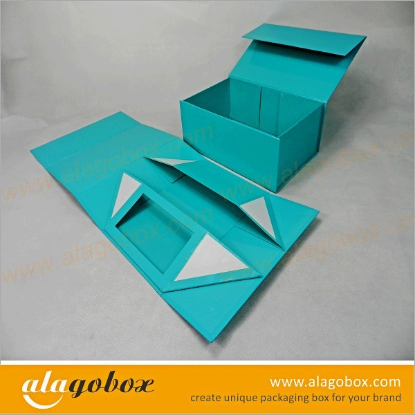 multiple color foldable box for shoe tree