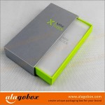 consumer electronics packaging with drawer for power bank