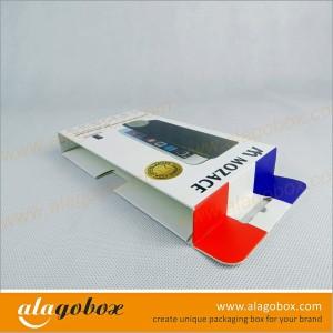 cardboard slide boxes with hanger tab