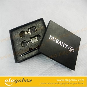 black box for auto keychain and pen gift set