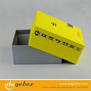 yellow presentation box