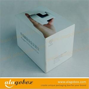 top and bottom box for finger vein identifier