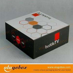 boxes with lid for TV accessory