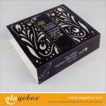 laser cut paper sleeve for paper box design