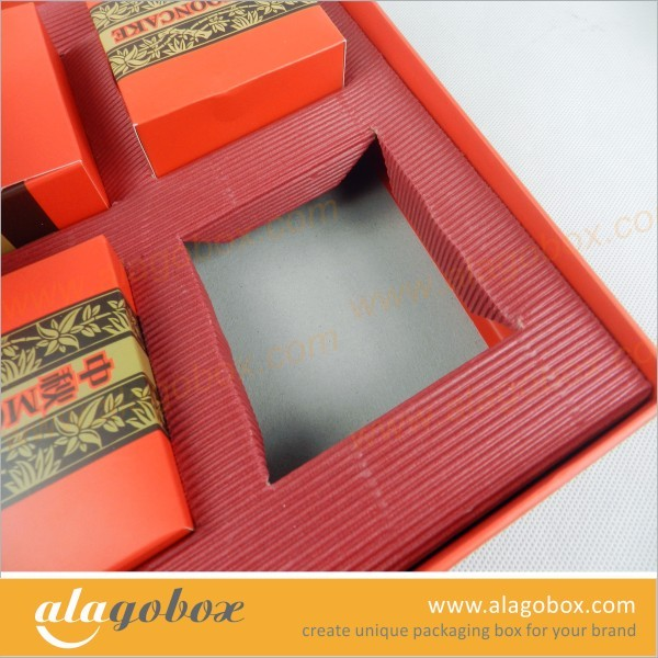 color corrugated paper tray