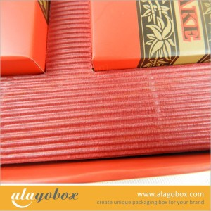 mooncake color corrugated paper inner tray