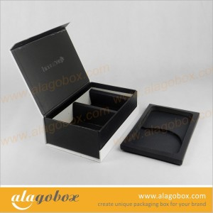 beauty packaging with paper laminated EVA inner tray
