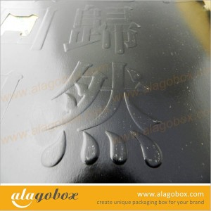 embossing for paper box