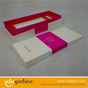 cosmetic packaging with irregular shape