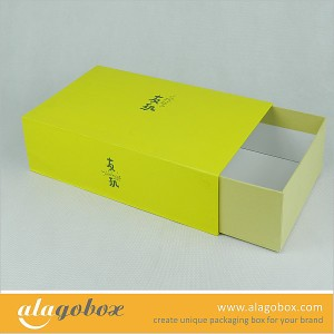 slide open boxes for shoe storage