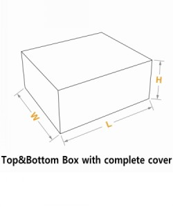 top& bottom box with full lid