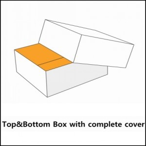 boxes with complete cover lid