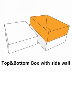 top&bottom cover with side wall seperate