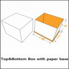 presentation boxes with paper base