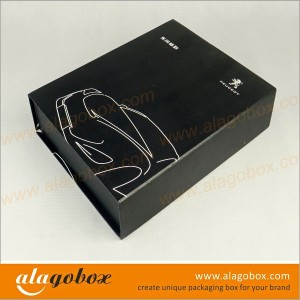 automotive products custom shape gift boxes with drawer