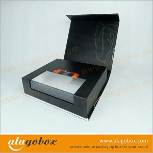 automotive products custom shape gift boxes with window