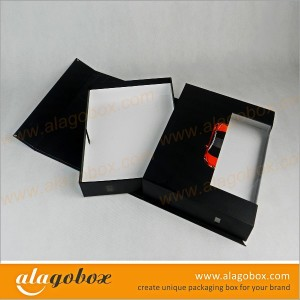 sliding boxes with window for auto parts