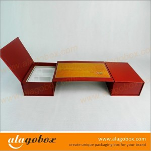personalized shape boxes for tea gift