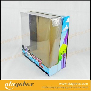 box with window for toy