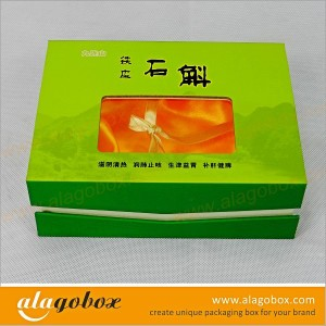 box with window for Chinese medicine