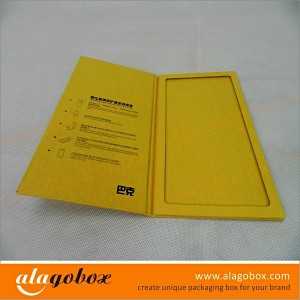 custom book style boxes for glass screen protector