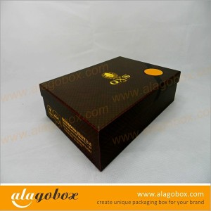 joint paper box for clothing