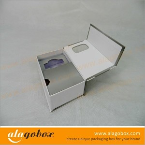 book style gift boxes with window