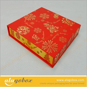 book style christmas gift box