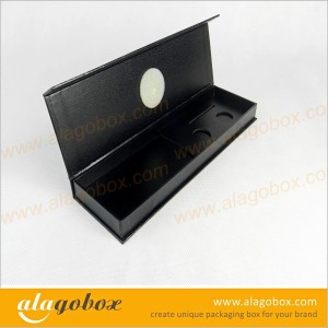 black paper book style boxes