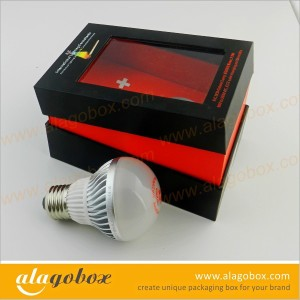 joint paper box for wireless LED light