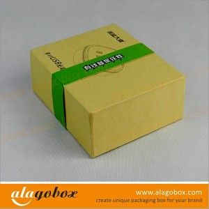 kraft boxes for USB charger