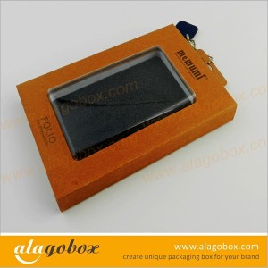 kraft boxes for phone case with window