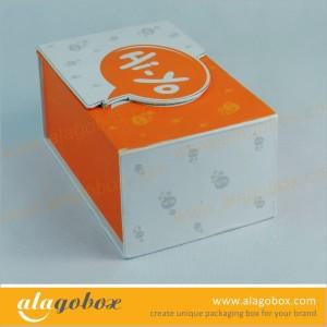 custom shape rigid boxes with 2 lids