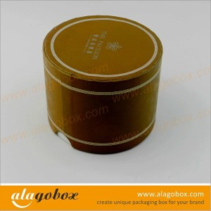 round gift boxes with lids for hotel candy