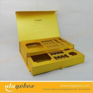 custom shape presentation boxes with sliding drawer