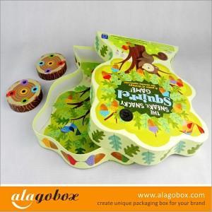 custom shape boxes for paper toys