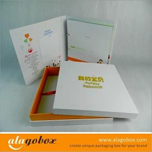 photo album box set for baby