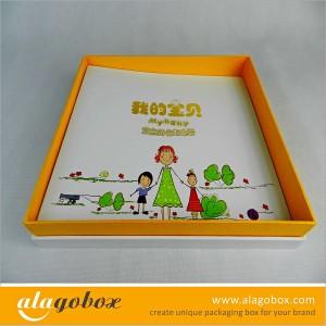 box gift of kids album set